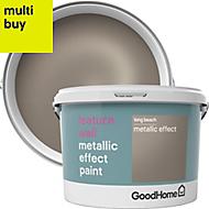 GoodHome Feature wall Long beach Metallic effect Emulsion paint 2L
