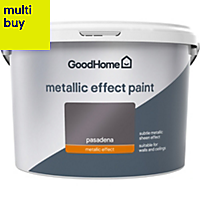 GoodHome Feature wall Pasadena Metallic effect Emulsion paint 2L