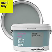 GoodHome Feature wall Manhattan Glitter effect Emulsion paint 2L