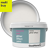 GoodHome Feature wall Fairbanks Glitter effect Emulsion paint 2L