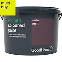 GoodHome Kitchen Mayfair Matt Emulsion paint 2.5L