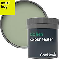 GoodHome Kitchen Limerick Matt Emulsion paint 0.05L Tester pot