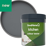 GoodHome Kitchen Hamilton Matt Emulsion paint 0.05L Tester pot