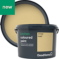 GoodHome Kitchen Santiago Matt Emulsion paint 2.5L