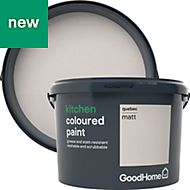 GoodHome Kitchen Quebec Matt Emulsion paint 2.5L