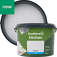 GoodHome Kitchen Whistler Matt Emulsion paint 2.5L