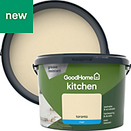 GoodHome Kitchen Toronto Matt Emulsion paint 2.5L