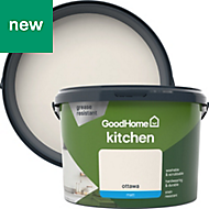 GoodHome Kitchen Ottawa Matt Emulsion paint 2.5L