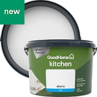 GoodHome Kitchen Alberta Matt Emulsion paint 2.5L