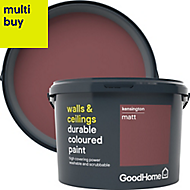 GoodHome Durable Kensington Matt Emulsion paint 2.5L