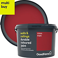 GoodHome Durable Chelsea Matt Emulsion paint 2.5L