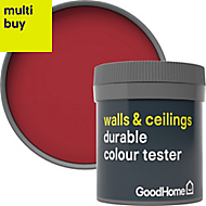 GoodHome Durable Chelsea Matt Emulsion paint 0.05L Tester pot