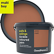 GoodHome Durable Pimlico Matt Emulsion paint 2.5L