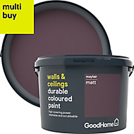 GoodHome Durable Mayfair Matt Emulsion paint 2.5L