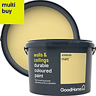 GoodHome Durable Andalusia Matt Emulsion paint 2.5L