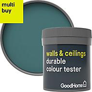 GoodHome Durable Milltown Matt Emulsion paint 0.05L Tester pot