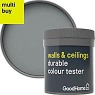 GoodHome Durable Delaware Matt Emulsion paint 0.05L Tester pot