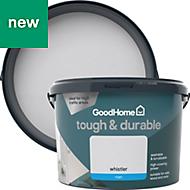 GoodHome Durable Whistler Matt Emulsion paint 2.5L