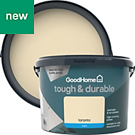 GoodHome Durable Toronto Matt Emulsion paint 2.5L