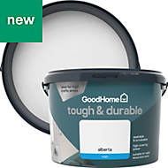 GoodHome Durable Alberta Matt Emulsion paint 2.5L