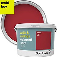 GoodHome Walls & ceilings Chelsea Silk Emulsion paint 2.5L