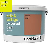 GoodHome Walls & ceilings Pimlico Silk Emulsion paint 2.5L
