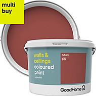 GoodHome Walls & ceilings Fulham Silk Emulsion paint 2.5L