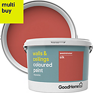 GoodHome Walls & ceilings Westminster Silk Emulsion paint, 2.5L