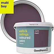 GoodHome Walls & ceilings Mayfair Matt Emulsion paint 2.5L