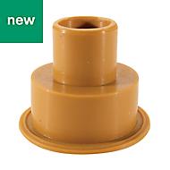 Flomasta Flush pipe external connector (Dia)80mm