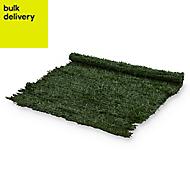 PVC Green Artificial hedge screen (H)1m (W)3m