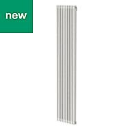 GoodHome Kensal Vertical Designer Radiator White Painted (H)1800 mm (W)368 mm