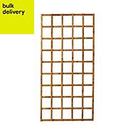 Traditional Square Trellis panel (H)1.83m(W)0.91m