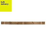Blooma Lemhi Pressure treated Gravel board (L)2.4m (W)150mm (T)21mm