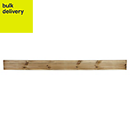Blooma Lemhi Pressure treated Gravel board (L)1.83m (W)150mm (T)21mm