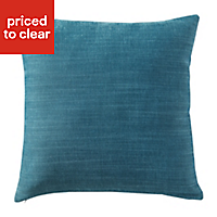 Pahea Plain Blue Cushion