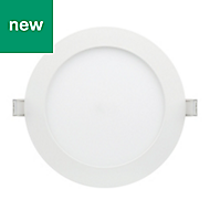 Karluk Matt White Non adjustable LED Downlight 16.5W IP65
