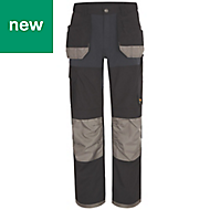 "Site Chinook Black & Grey Men's Trousers, W30"" L34"""