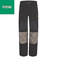 "Site Ridgeback Black & Grey Men's Trousers, W32"" L32"""