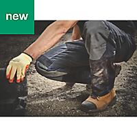 "Site Ridgeback Black & Grey Men's Trousers, W34"" L32"""