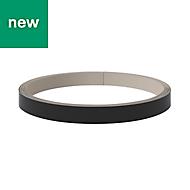 GoodHome Pasilla Matt Carbon Edging tape, (L)10m