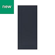 GoodHome Artemisia Midnight blue classic shaker Tall wall Cabinet door (W)400mm