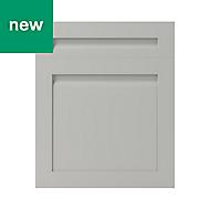GoodHome Garcinia Matt stone integrated handle shaker Drawerline door & drawer front, (W)600mm
