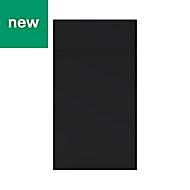 GoodHome Pasilla Matt carbon thin frame slab Drawerline door & drawer front, (W)400mm