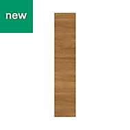 GoodHome Chia Horizontal woodgrain effect slab Highline Cabinet door (W)150mm