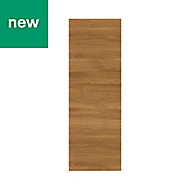 GoodHome Chia Horizontal woodgrain effect slab Cabinet door (W)250mm