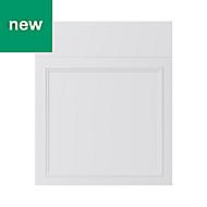 GoodHome Artemisia Matt white classic shaker Drawerline door & drawer front, (W)600mm