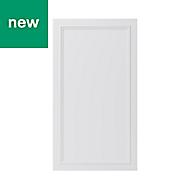 GoodHome Artemisia Matt white classic shaker Tall wall Cabinet door (W)500mm