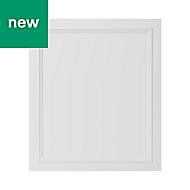 GoodHome Artemisia Matt white classic shaker Cabinet door (W)600mm
