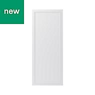 GoodHome Artemisia Matt white classic shaker Tall Larder Cabinet door (W)600mm